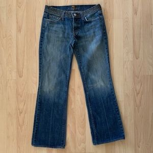 7 For All Mankind Bootcut Studded Jeans
